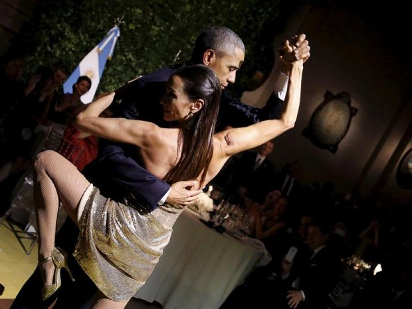 Obama Tango Yaptı - VİDEO